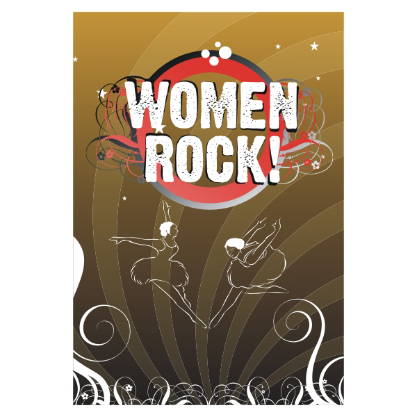 Logo Design by aspstudio - Entry No. 50 in the Logo Design Contest Women ROCK! - Dress for Success Pittsburgh.