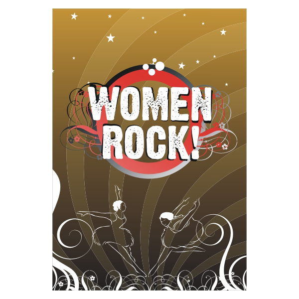 Logo Design by aspstudio - Entry No. 51 in the Logo Design Contest Women ROCK! - Dress for Success Pittsburgh.