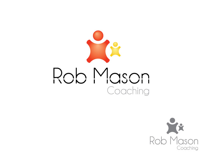 Logo Design by Osama Zia - Entry No. 13 in the Logo Design Contest New Logo Design Needed for Exciting Company Rob Mason Coaching.