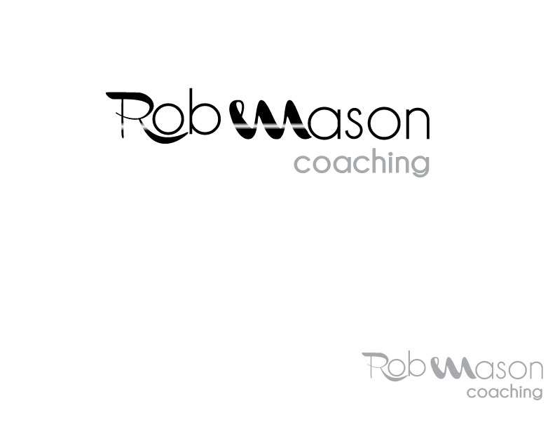 Logo Design by Osama Zia - Entry No. 14 in the Logo Design Contest New Logo Design Needed for Exciting Company Rob Mason Coaching.