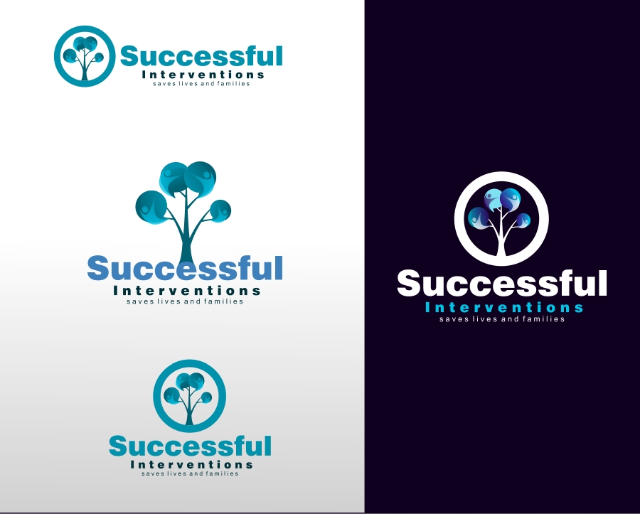 Logo Design by Private User - Entry No. 48 in the Logo Design Contest Logo Design Needed for Exciting Company Successful Interventions.