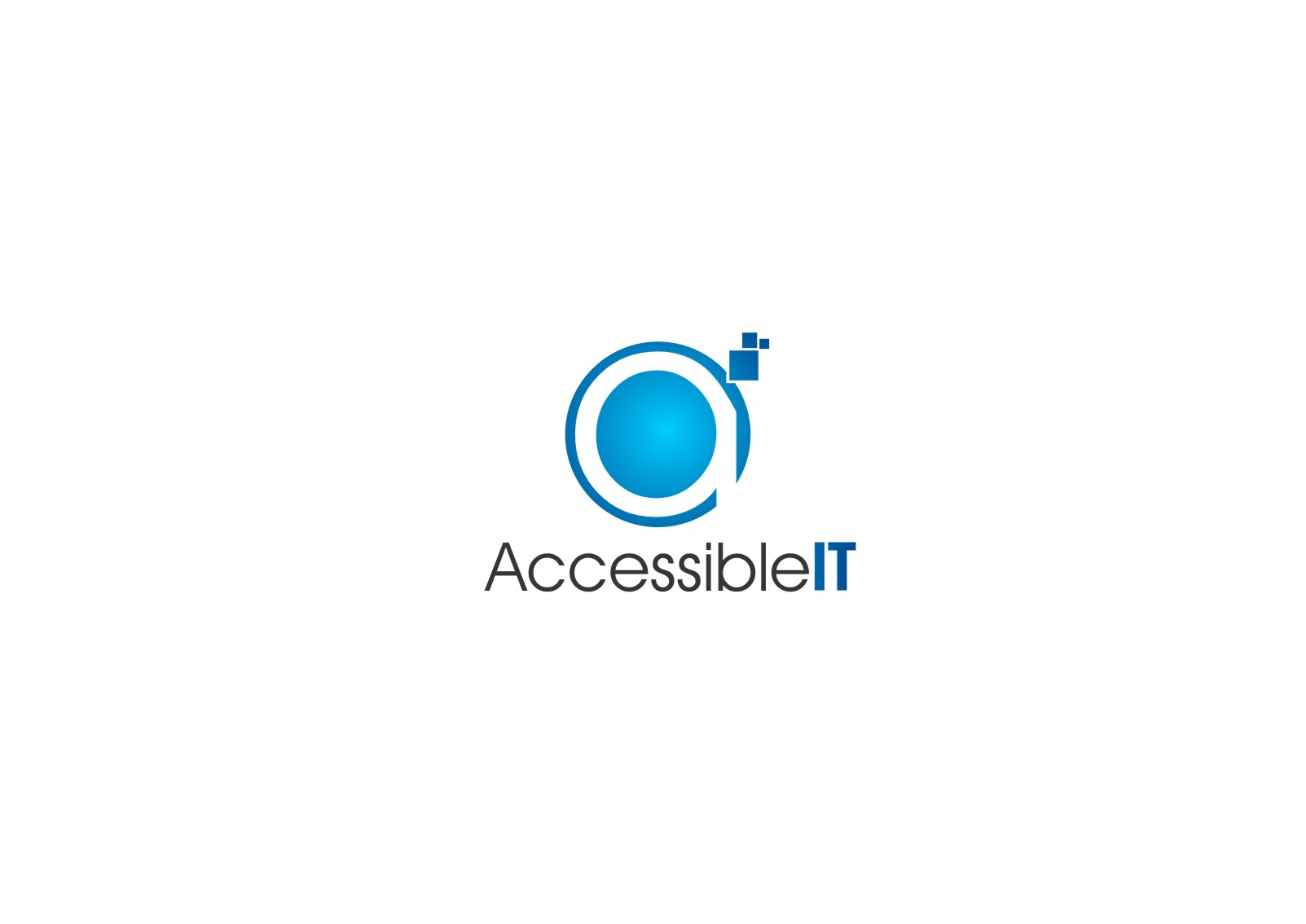 Logo Design by yanxsant - Entry No. 186 in the Logo Design Contest Logo Design Needed for Exciting New Company Accessible IT.