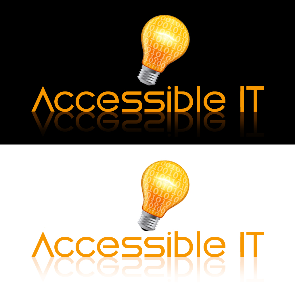 Logo Design by moidgreat - Entry No. 196 in the Logo Design Contest Logo Design Needed for Exciting New Company Accessible IT.