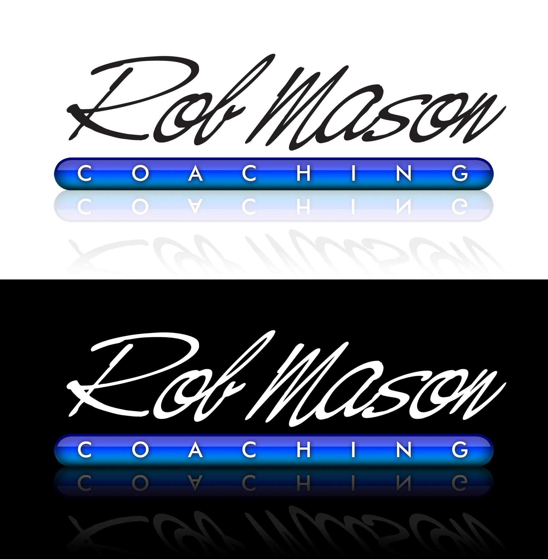 Logo Design by moidgreat - Entry No. 15 in the Logo Design Contest New Logo Design Needed for Exciting Company Rob Mason Coaching.