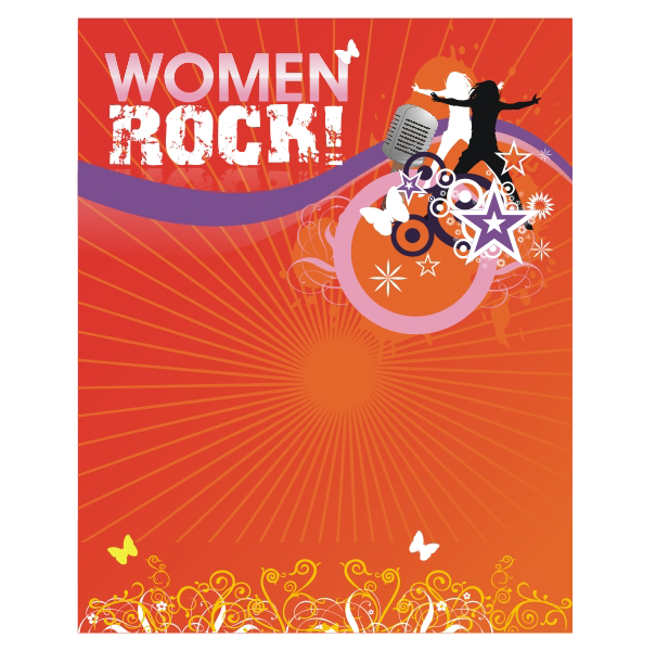 Logo Design by aspstudio - Entry No. 57 in the Logo Design Contest Women ROCK! - Dress for Success Pittsburgh.