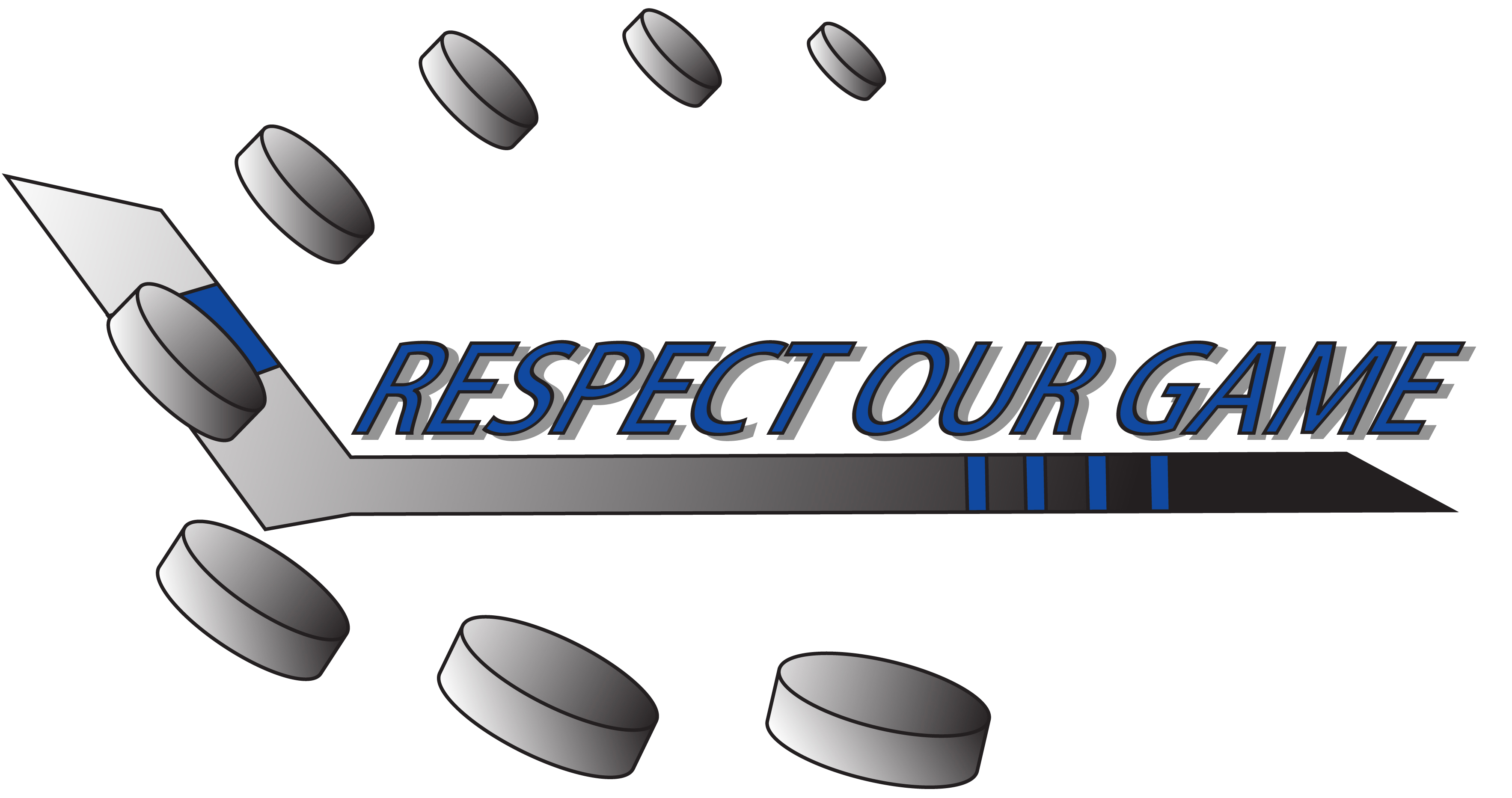 Logo Design by Genesis Orland Colendres - Entry No. 2 in the Logo Design Contest Respect our game - North Van Minor Hockey Logo Design.