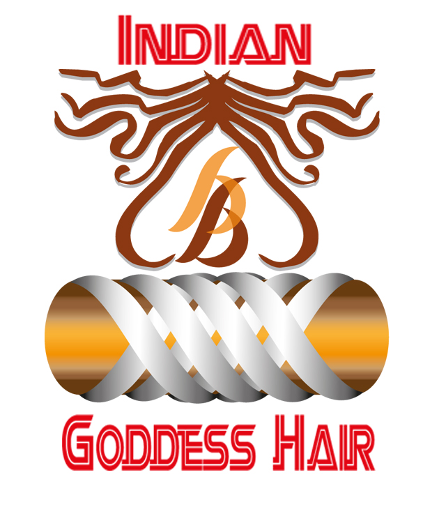 Logo Design by Kitz Clear - Entry No. 1 in the Logo Design Contest Indian Goddess Hair LOGO DESIGN.