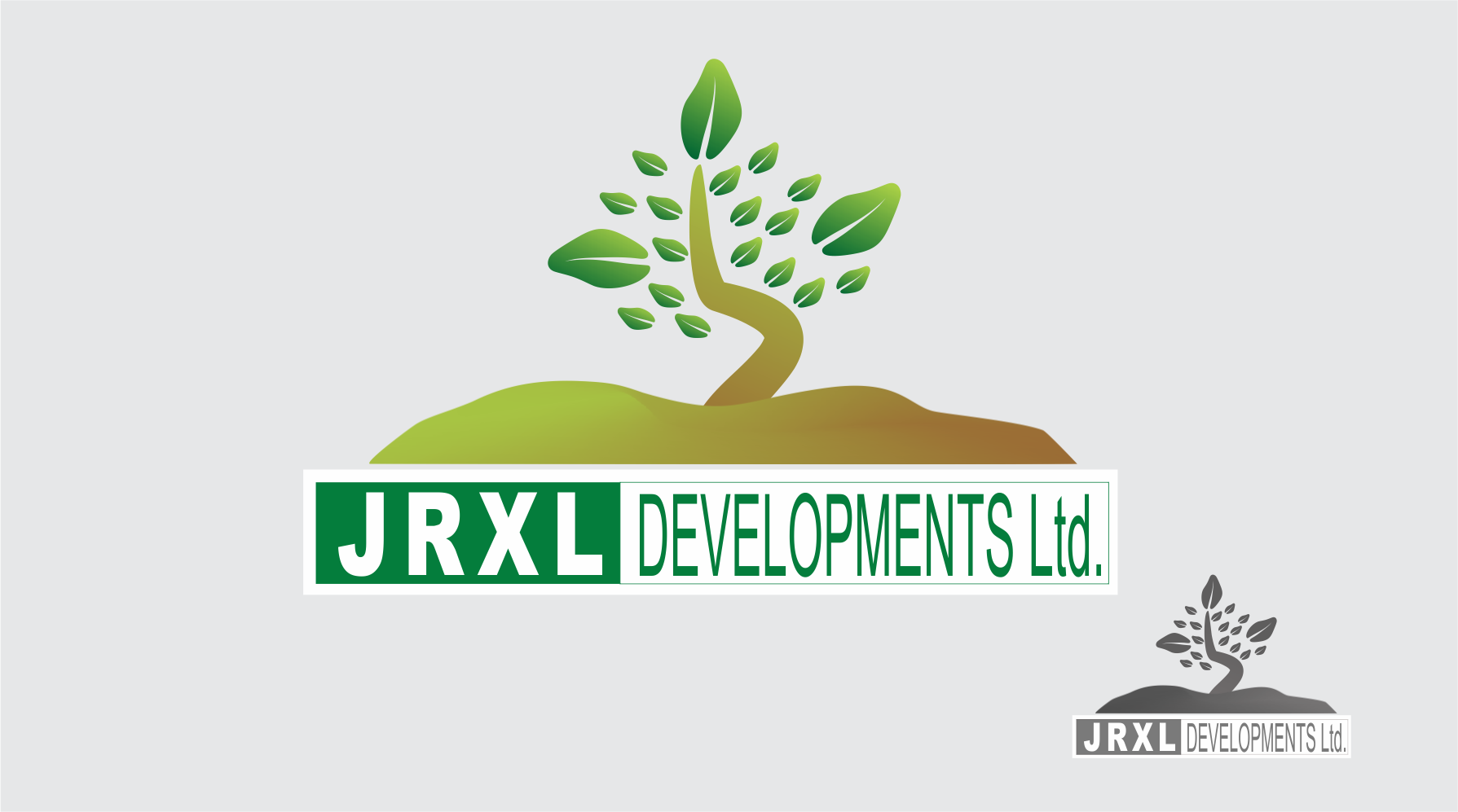 Logo Design by Private User - Entry No. 7 in the Logo Design Contest JRXL DEVELOPMENTS LTD Logo Design.