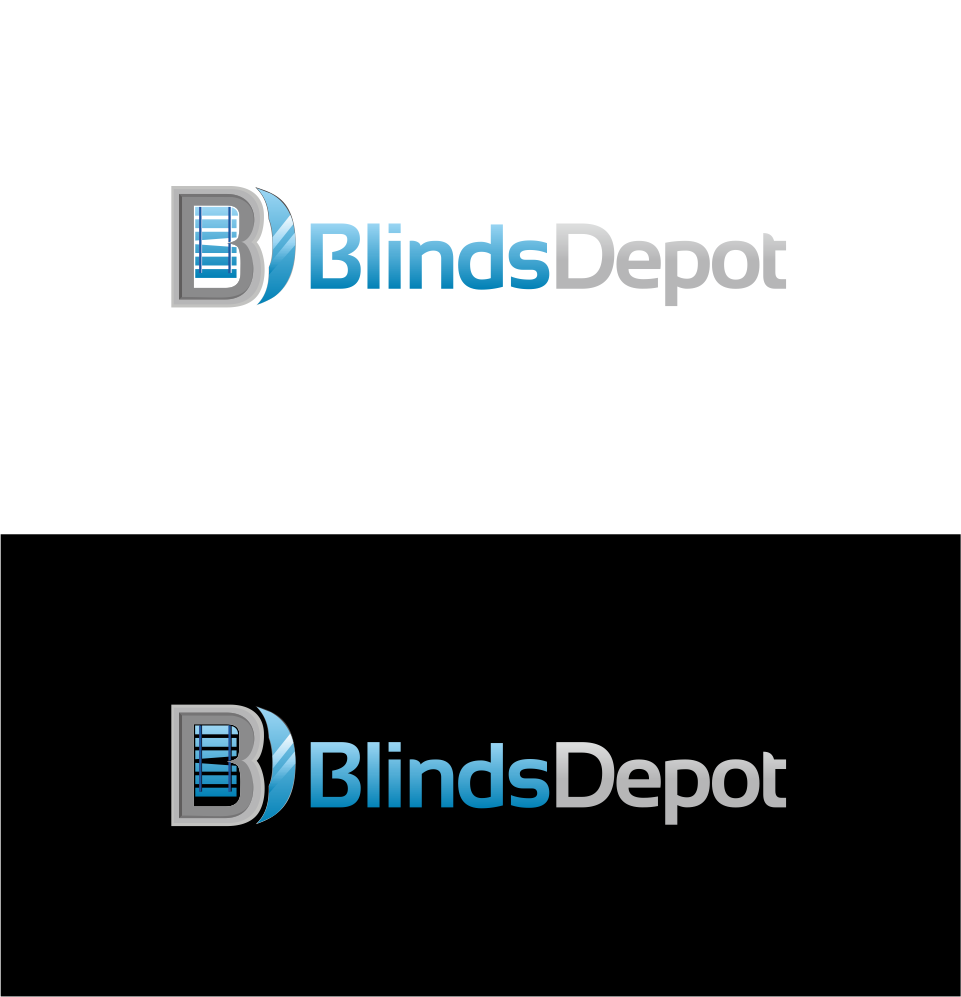 Logo Design by Mitchnick Sunardi - Entry No. 2 in the Logo Design Contest Logo Design Needed for Exciting New Company Blinds Depot.