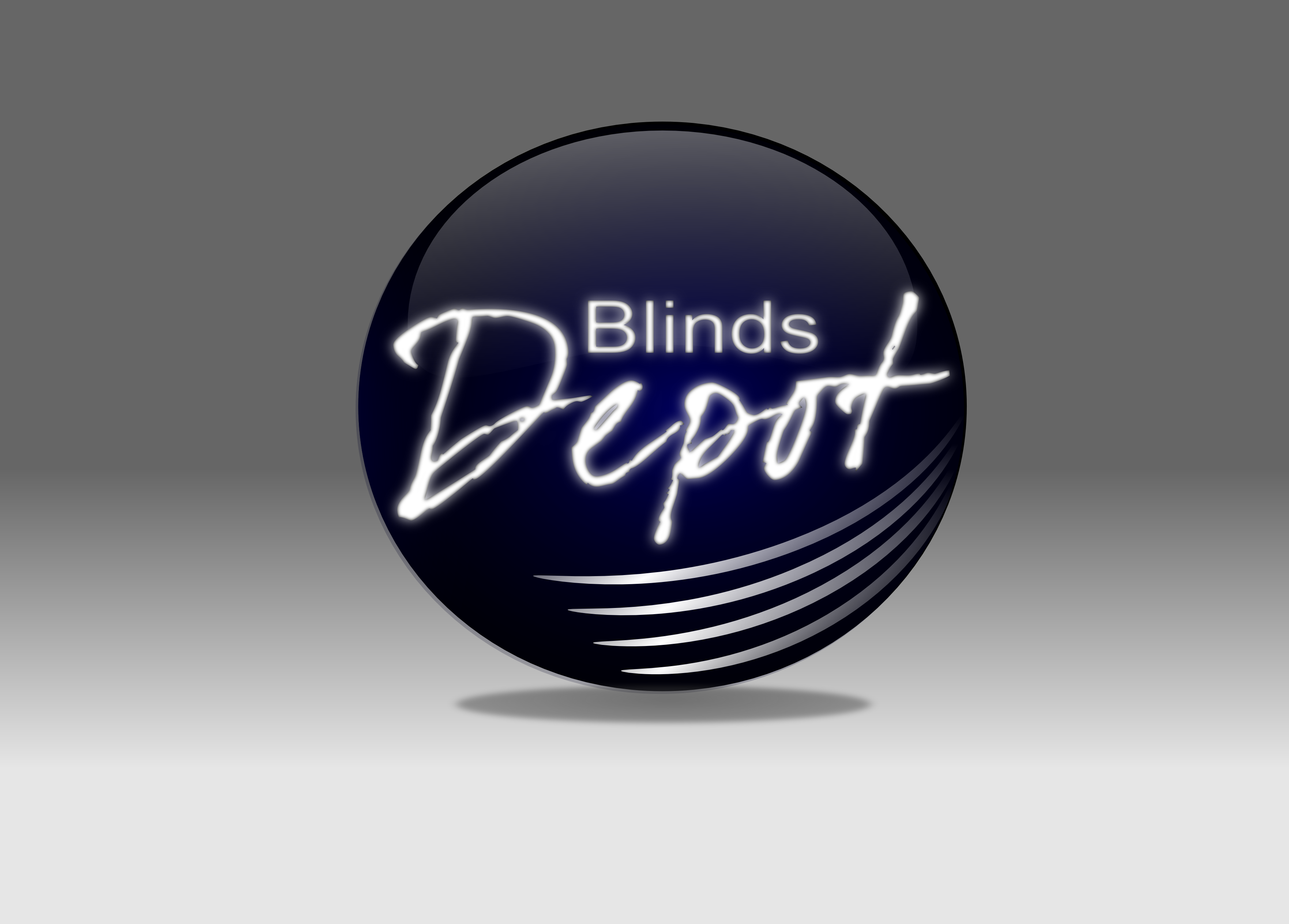 Logo Design by whoosef - Entry No. 5 in the Logo Design Contest Logo Design Needed for Exciting New Company Blinds Depot.