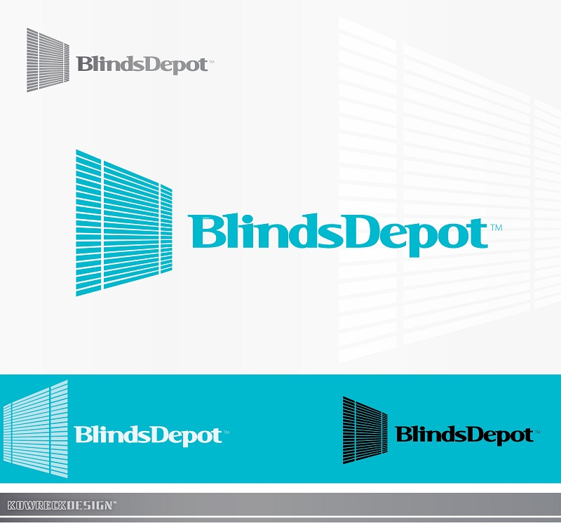 Logo Design by kowreck - Entry No. 6 in the Logo Design Contest Logo Design Needed for Exciting New Company Blinds Depot.