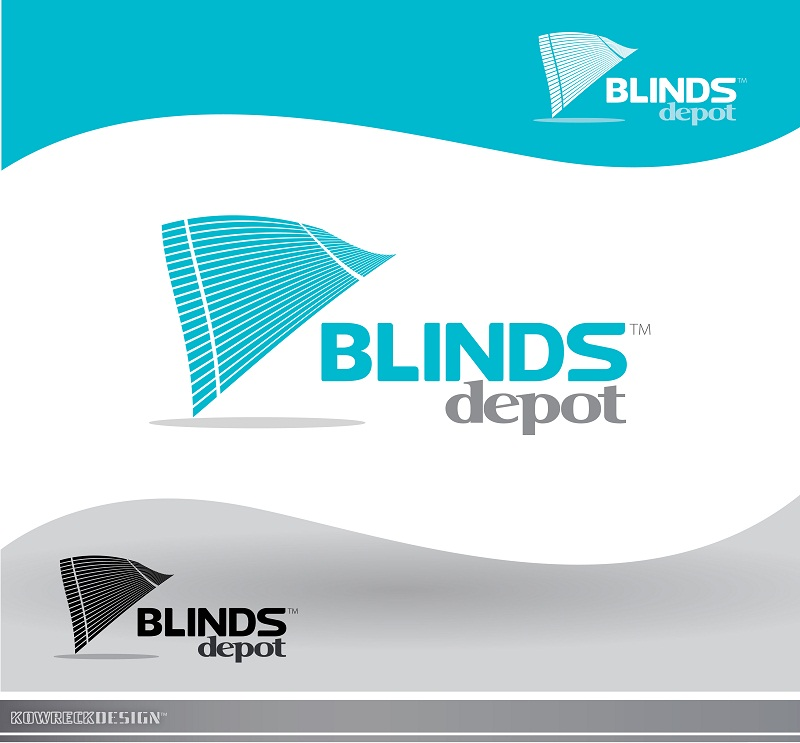 Logo Design by kowreck - Entry No. 7 in the Logo Design Contest Logo Design Needed for Exciting New Company Blinds Depot.