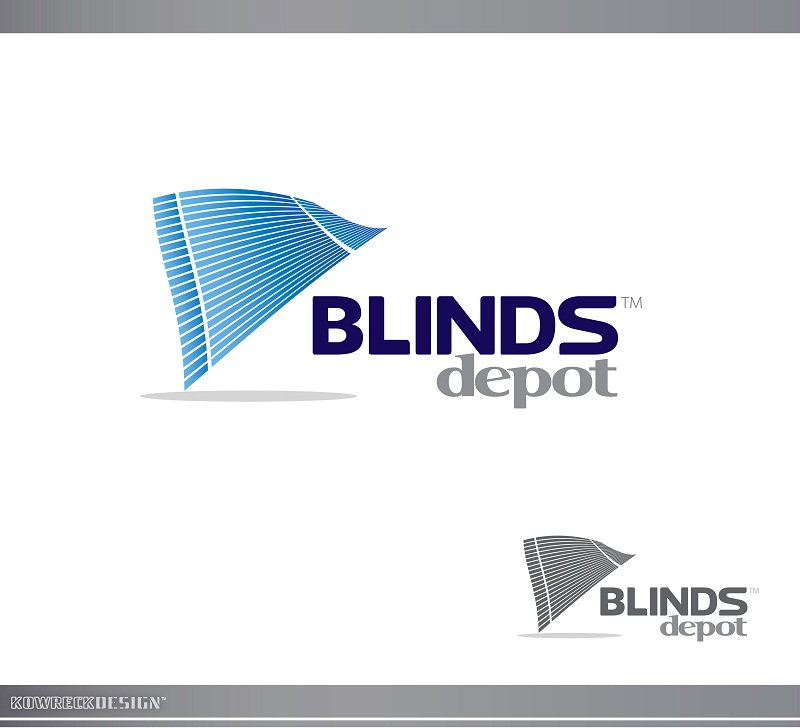 Logo Design by kowreck - Entry No. 8 in the Logo Design Contest Logo Design Needed for Exciting New Company Blinds Depot.
