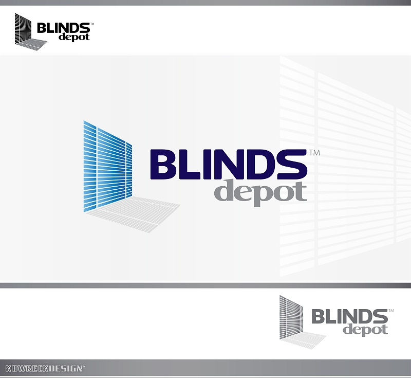 Logo Design by kowreck - Entry No. 9 in the Logo Design Contest Logo Design Needed for Exciting New Company Blinds Depot.