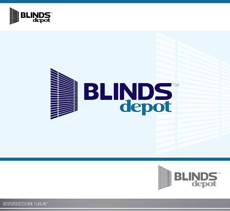 Logo Design by kowreck - Entry No. 10 in the Logo Design Contest Logo Design Needed for Exciting New Company Blinds Depot.