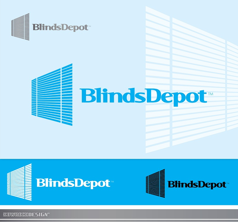 Logo Design by kowreck - Entry No. 11 in the Logo Design Contest Logo Design Needed for Exciting New Company Blinds Depot.