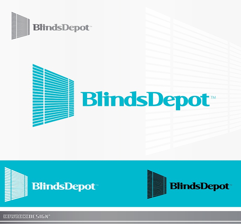 Logo Design by kowreck - Entry No. 12 in the Logo Design Contest Logo Design Needed for Exciting New Company Blinds Depot.