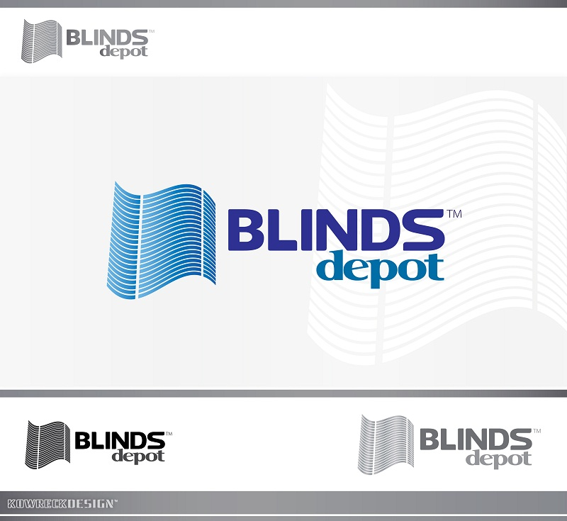 Logo Design by kowreck - Entry No. 13 in the Logo Design Contest Logo Design Needed for Exciting New Company Blinds Depot.