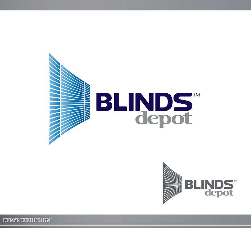 Logo Design by kowreck - Entry No. 14 in the Logo Design Contest Logo Design Needed for Exciting New Company Blinds Depot.