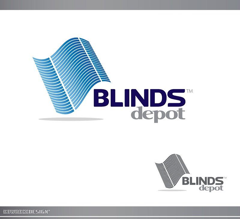 Logo Design by kowreck - Entry No. 15 in the Logo Design Contest Logo Design Needed for Exciting New Company Blinds Depot.