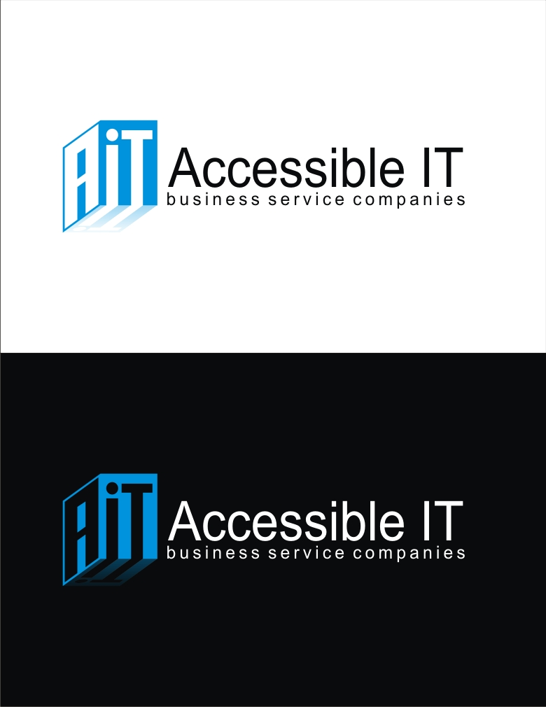 Logo Design by RO NI - Entry No. 219 in the Logo Design Contest Logo Design Needed for Exciting New Company Accessible IT.