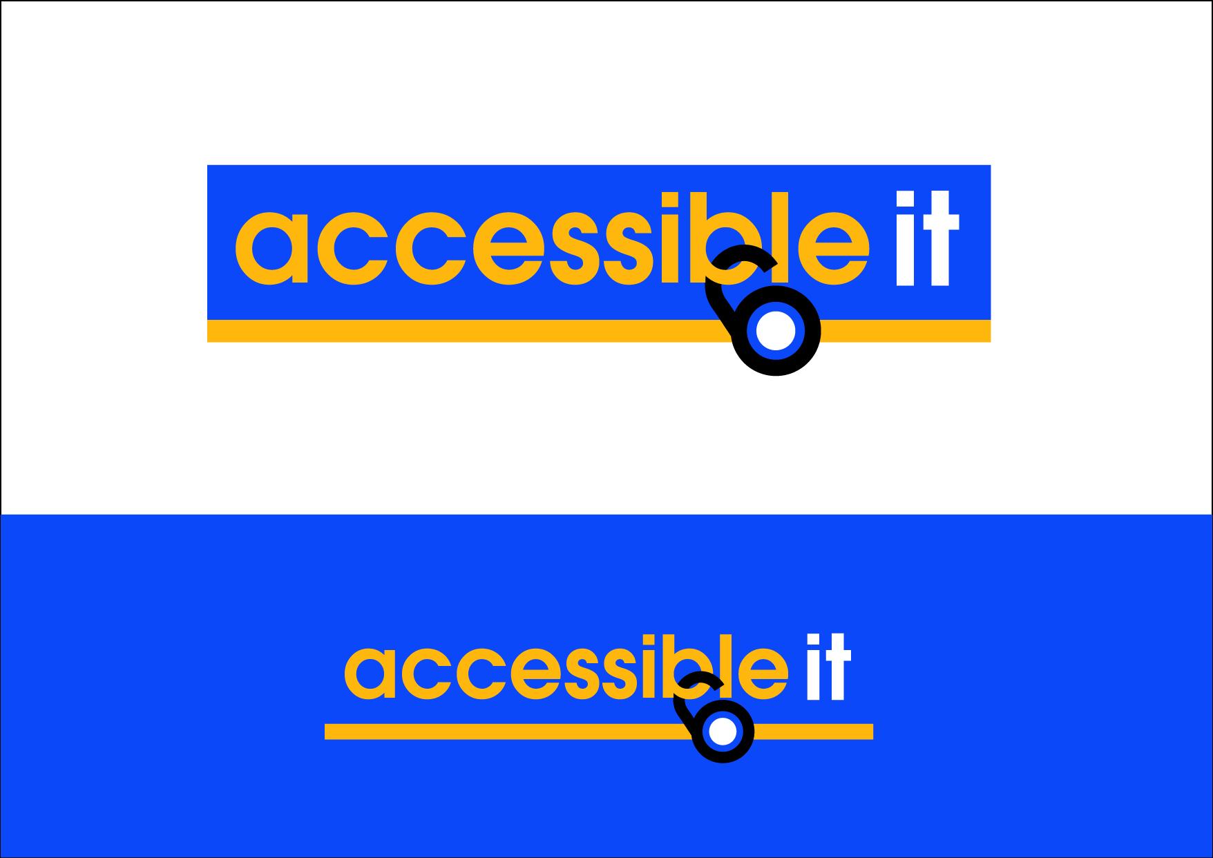 Logo Design by Wilfredo Mendoza - Entry No. 221 in the Logo Design Contest Logo Design Needed for Exciting New Company Accessible IT.
