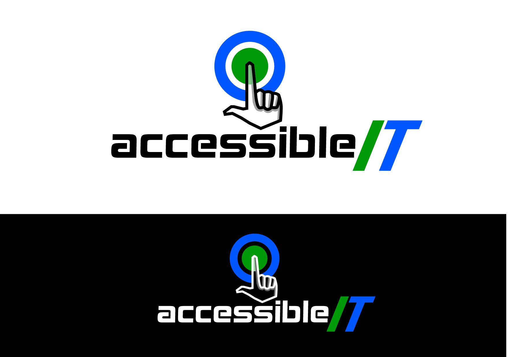 Logo Design by Wilfredo Mendoza - Entry No. 222 in the Logo Design Contest Logo Design Needed for Exciting New Company Accessible IT.