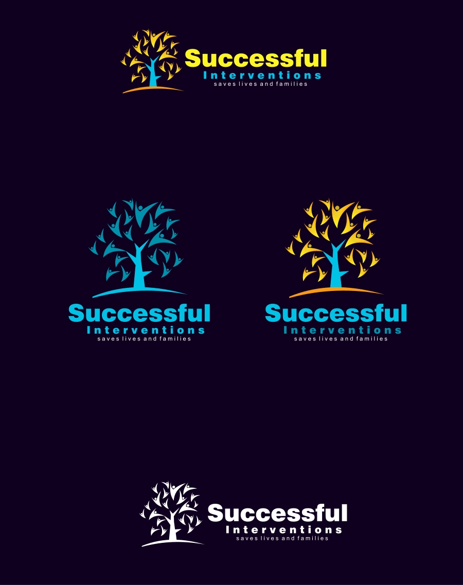 Logo Design by Private User - Entry No. 74 in the Logo Design Contest Logo Design Needed for Exciting Company Successful Interventions.