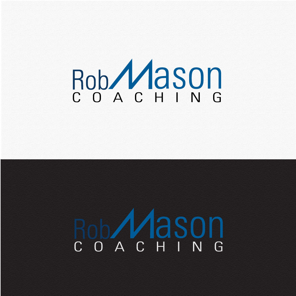 Logo Design by rockin - Entry No. 21 in the Logo Design Contest New Logo Design Needed for Exciting Company Rob Mason Coaching.