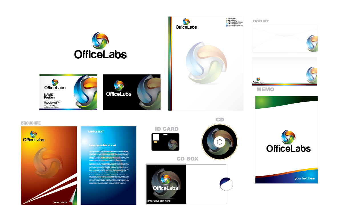 Logo Design by Private User - Entry No. 95 in the Logo Design Contest OfficeLabs Logo Design.