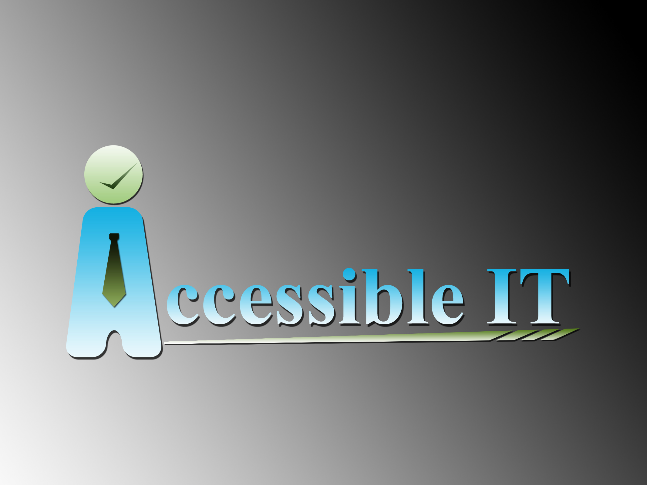 Logo Design by Jerry Nable Jr - Entry No. 251 in the Logo Design Contest Logo Design Needed for Exciting New Company Accessible IT.