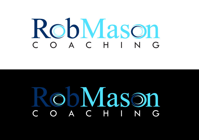 Logo Design by Kenneth Joel - Entry No. 27 in the Logo Design Contest New Logo Design Needed for Exciting Company Rob Mason Coaching.