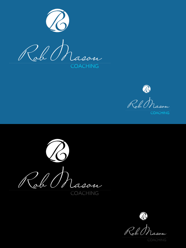 Logo Design by liboy - Entry No. 28 in the Logo Design Contest New Logo Design Needed for Exciting Company Rob Mason Coaching.