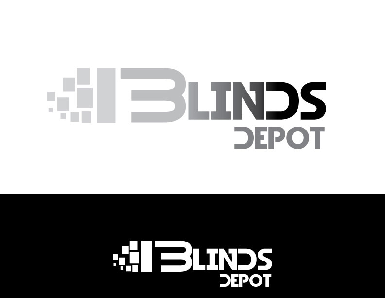 Logo Design by Osama Zia - Entry No. 19 in the Logo Design Contest Logo Design Needed for Exciting New Company Blinds Depot.