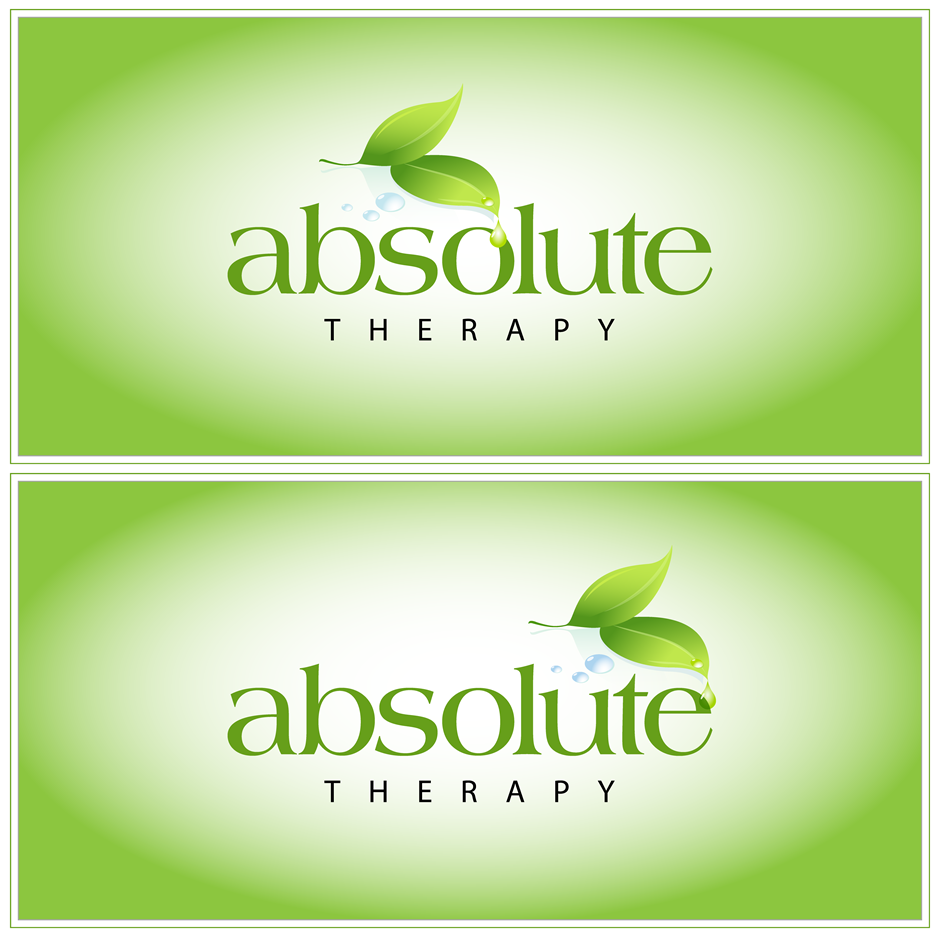 Logo Design by xenowebdev - Entry No. 77 in the Logo Design Contest Absolute Therapy.