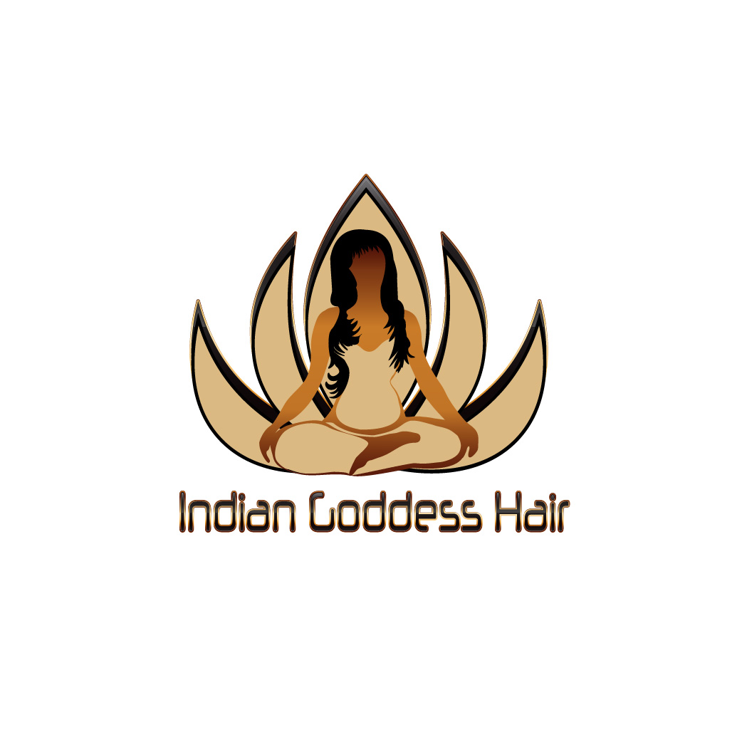 Logo Design by Deborah Wise - Entry No. 4 in the Logo Design Contest Indian Goddess Hair LOGO DESIGN.