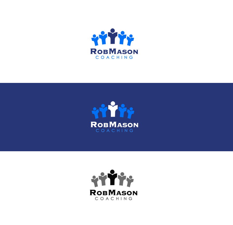 Logo Design by elmd - Entry No. 29 in the Logo Design Contest New Logo Design Needed for Exciting Company Rob Mason Coaching.