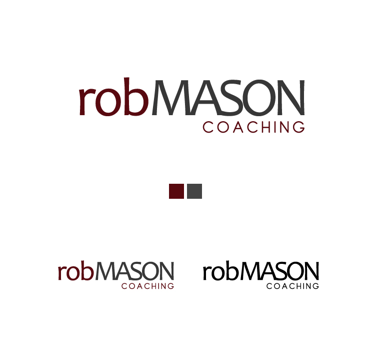 Logo Design by elmd - Entry No. 30 in the Logo Design Contest New Logo Design Needed for Exciting Company Rob Mason Coaching.