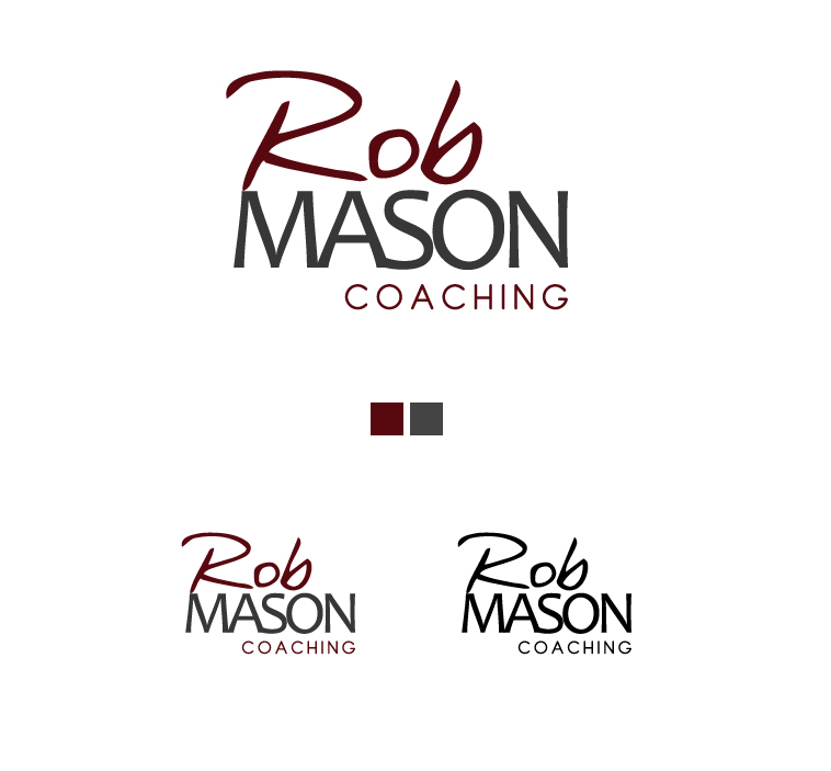 Logo Design by elmd - Entry No. 31 in the Logo Design Contest New Logo Design Needed for Exciting Company Rob Mason Coaching.
