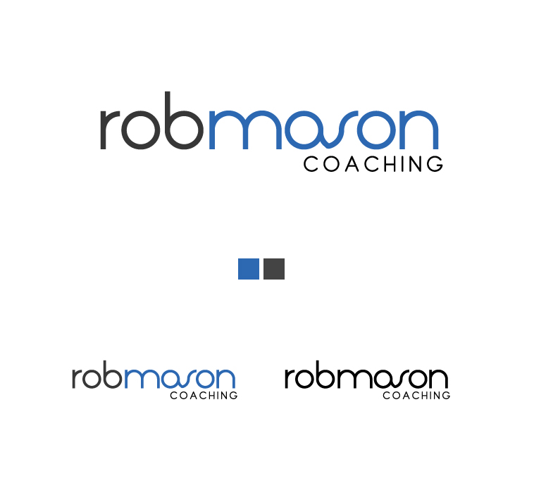 Logo Design by elmd - Entry No. 32 in the Logo Design Contest New Logo Design Needed for Exciting Company Rob Mason Coaching.