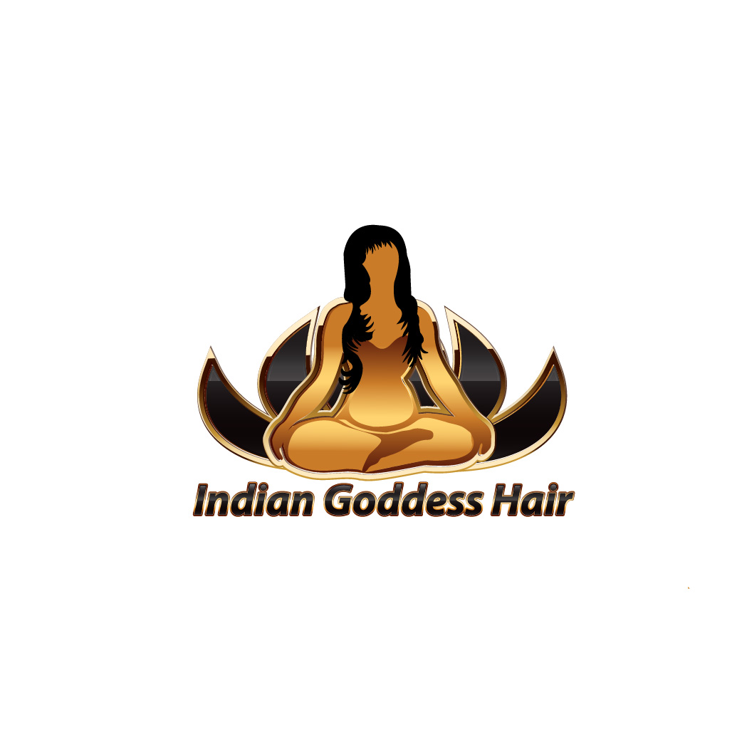 Logo Design by Deborah Wise - Entry No. 5 in the Logo Design Contest Indian Goddess Hair LOGO DESIGN.
