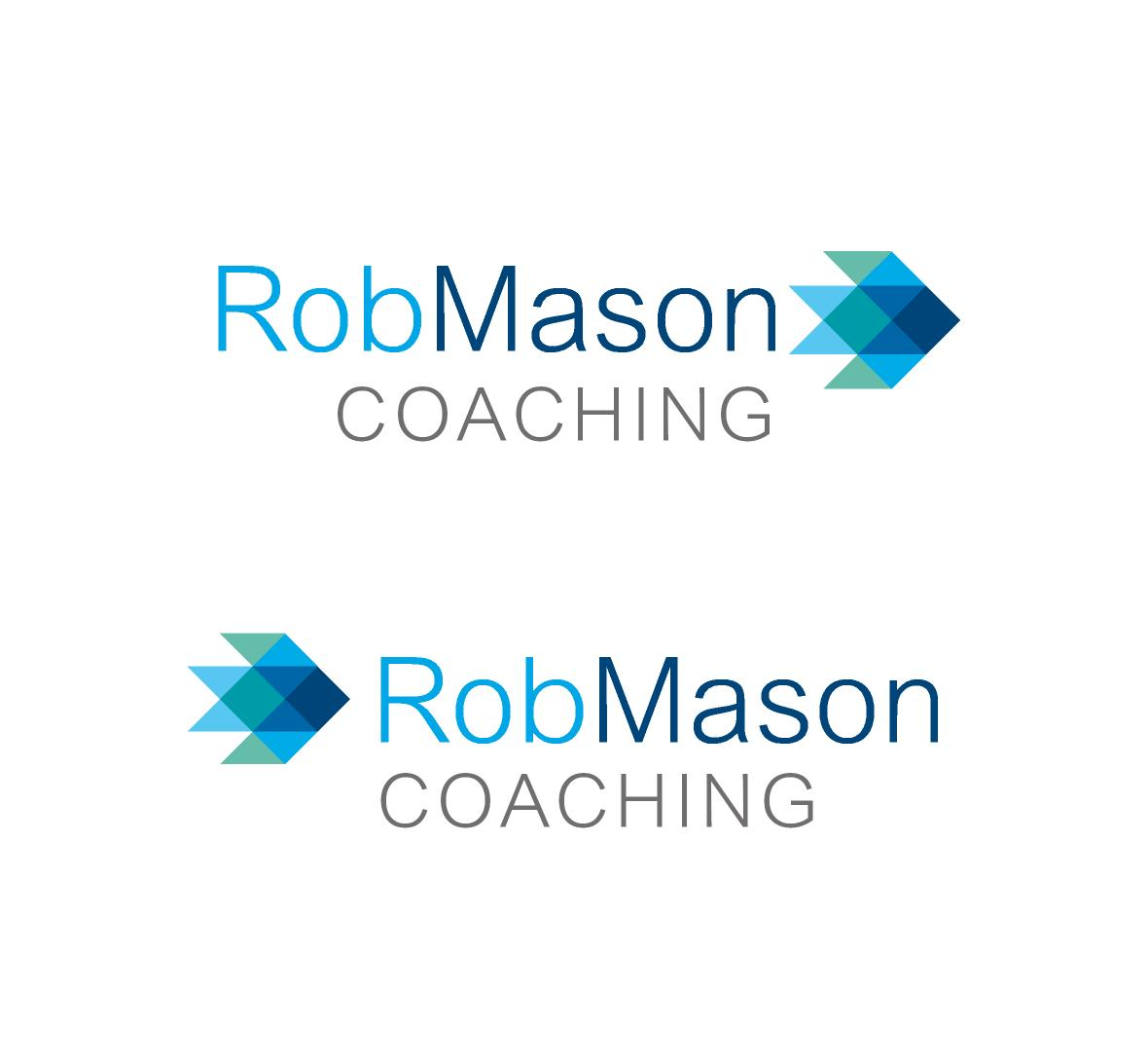 Logo Design by ZAYYADI AHMAD - Entry No. 33 in the Logo Design Contest New Logo Design Needed for Exciting Company Rob Mason Coaching.