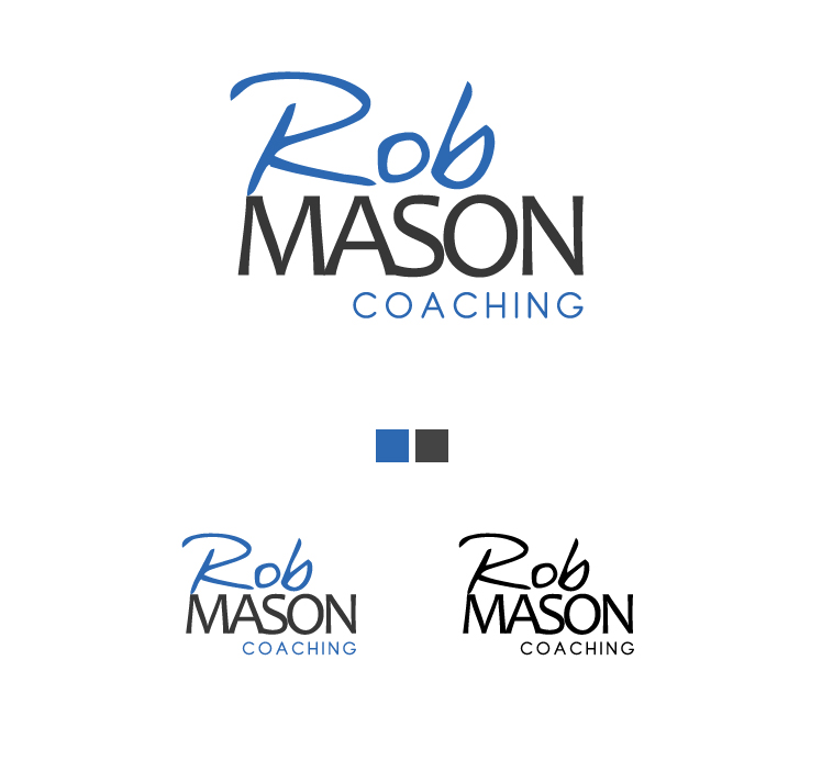 Logo Design by elmd - Entry No. 38 in the Logo Design Contest New Logo Design Needed for Exciting Company Rob Mason Coaching.