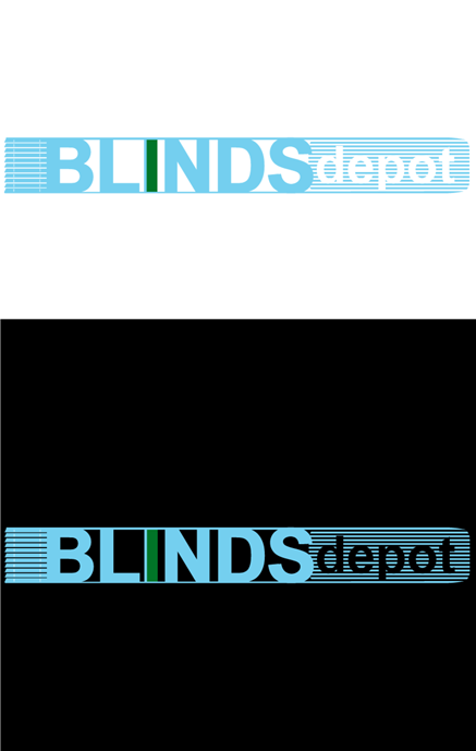 Logo Design by Private User - Entry No. 27 in the Logo Design Contest Logo Design Needed for Exciting New Company Blinds Depot.