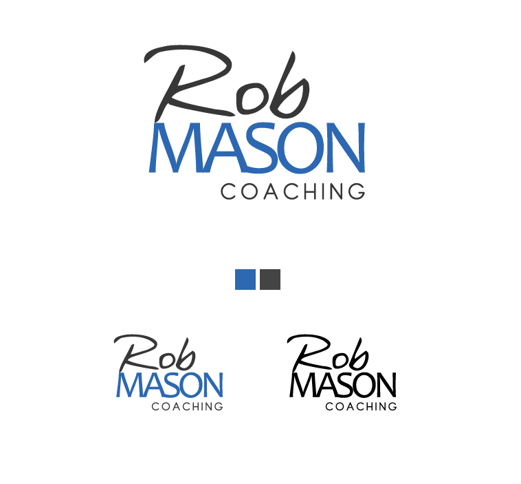 Logo Design by elmd - Entry No. 39 in the Logo Design Contest New Logo Design Needed for Exciting Company Rob Mason Coaching.