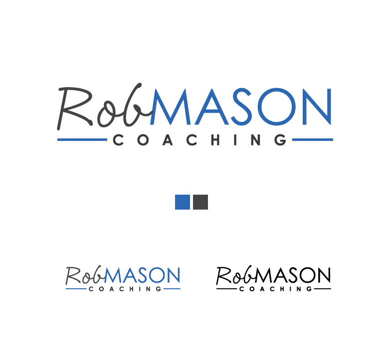 Logo Design by elmd - Entry No. 42 in the Logo Design Contest New Logo Design Needed for Exciting Company Rob Mason Coaching.