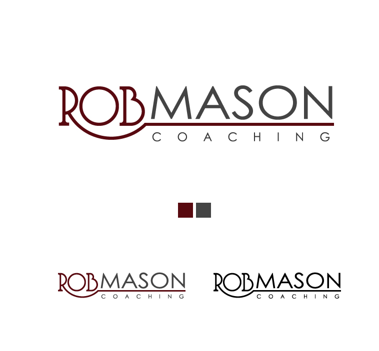 Logo Design by elmd - Entry No. 43 in the Logo Design Contest New Logo Design Needed for Exciting Company Rob Mason Coaching.