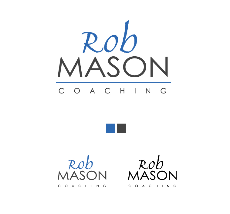 Logo Design by elmd - Entry No. 44 in the Logo Design Contest New Logo Design Needed for Exciting Company Rob Mason Coaching.