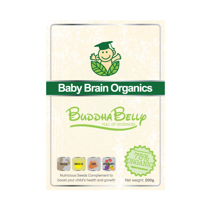 Packaging Design by geisha - Entry No. 74 in the Packaging Design Contest Baby Brain Organics Packaging Design.