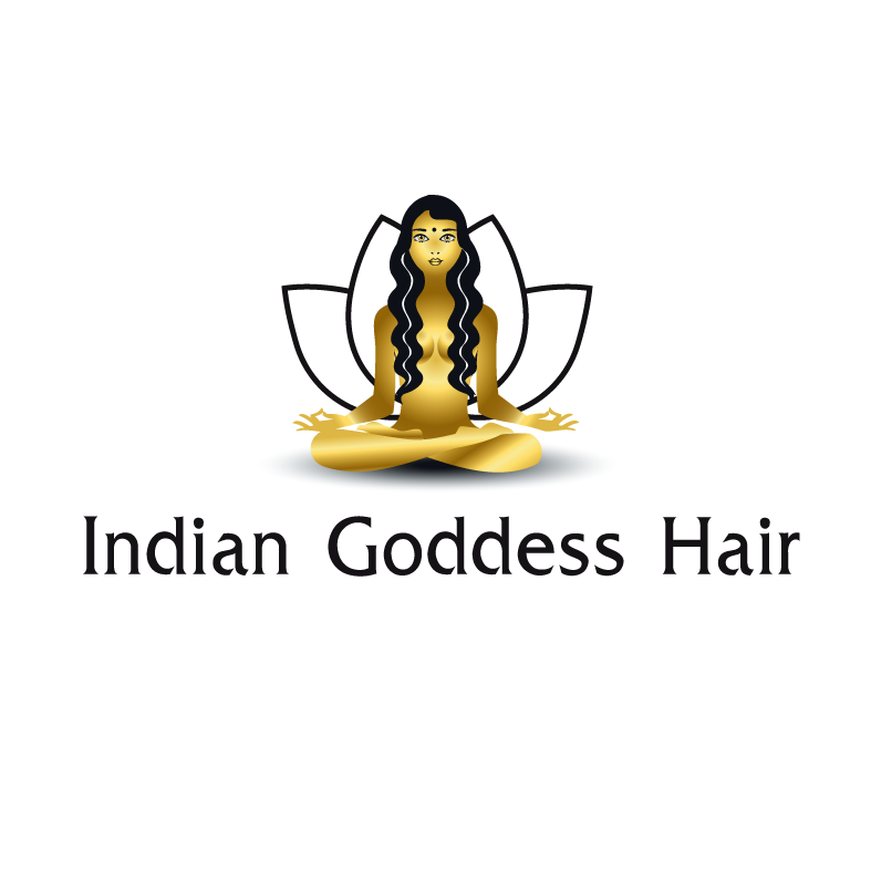 Logo Design by luna - Entry No. 6 in the Logo Design Contest Indian Goddess Hair LOGO DESIGN.